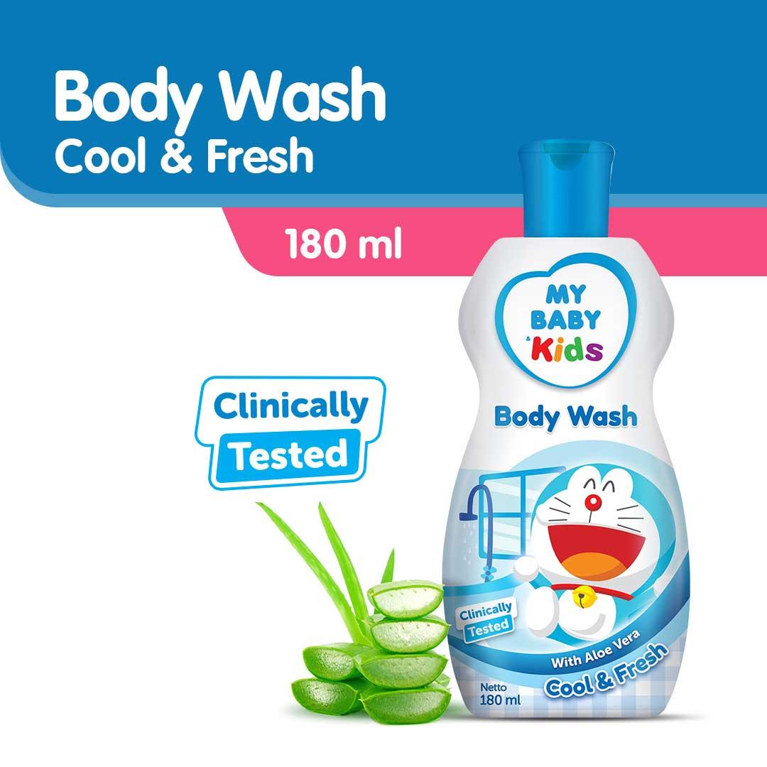 MY BABY KIDS BODYWASH 180ML-BLUE