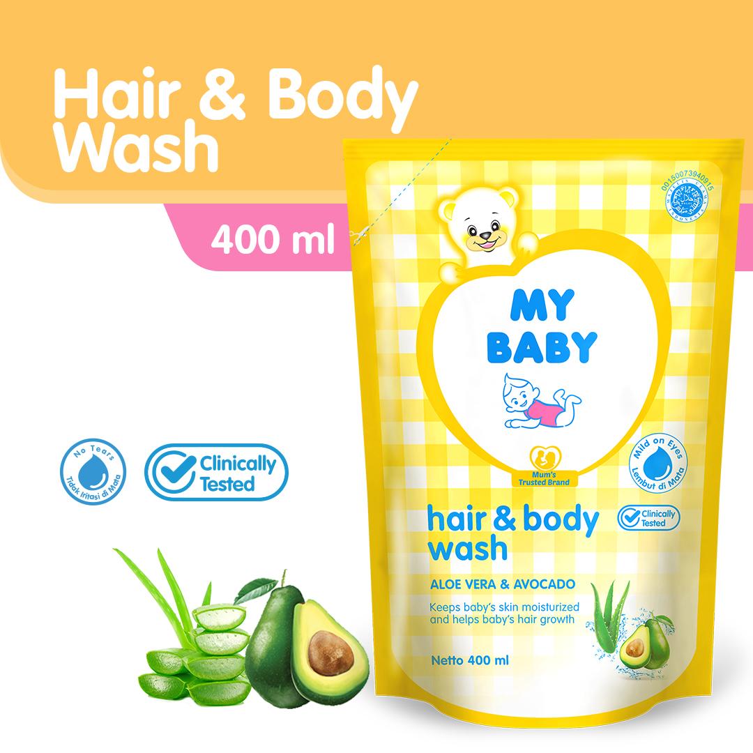 MY BABY HAIR&BODYWASH REFIL 400ML